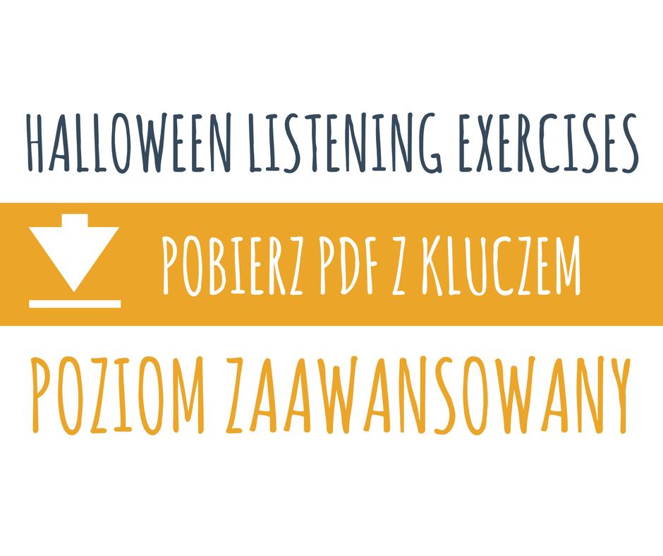 ćwiczenia na halloween